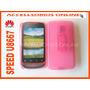 Clip Combo Huawei Speed Y Sunrise U8667 Rosa Transparente !!