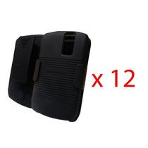 12 Clip Combo Nextel 8350i Puregear Negro Original Nuevos