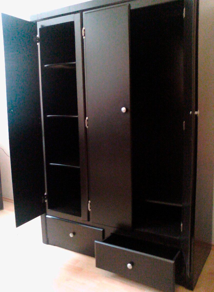 Closet ropero zapatera minimalista chocolate rm4 2 590 for Closet con zapatera
