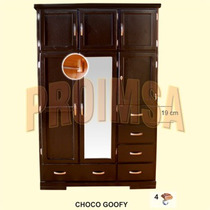 Closet Portatil Color Chocolate Vm