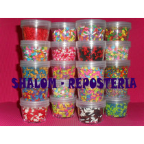 *kit De 5 Estuches Acoplables D Confetti De Azucar,cupcakes*