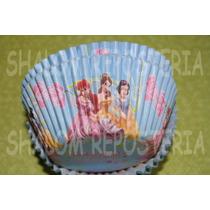 *capacillos Azules Princesas Disney Cupcake Fondant*