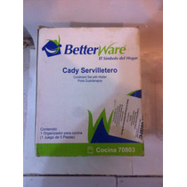 Servilletero Betterware Con Salero Pumientero Etc