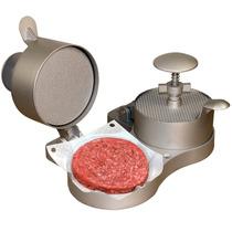 Prensa Doble Para Carne Hamburguesa Weston Nueva