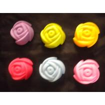 Moldes De Silicón Para Cupcake En Forma De Rosa