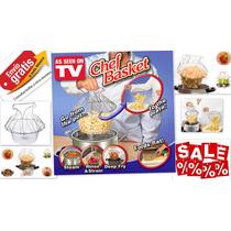 Chef Basket Freidora Colador Vaporera Cocina Envío Gratis