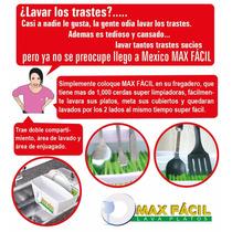 Max Fácil El Lava Platos, Cubiertos, Refractarios, Vajillas.