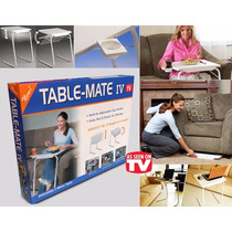 Table Mate Mesa Plegable Multiusos Y Alturas 18 Posiciones