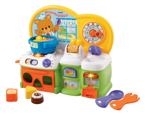 Cocina inteligente v tech juguete para beb en for Cocina inteligente