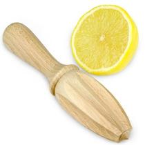 Fruta Escariador - Tradicional Madera Limón Juicer Fácil D