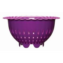 Colador - Kizmos Flora Berry 16.5cm Púrpura Enjuague Drenaje