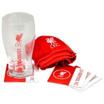Bar Set - Liverpool Wordmark Mini Fútbol Oficial