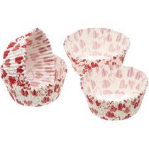 Cajas De La Torta - Paquete De 60 Corazón Diseño Hada Copa