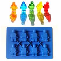 Molde Para Hielos, Figura Lego