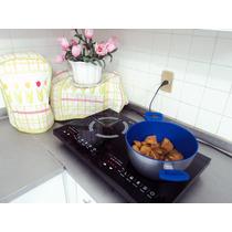 Parrilla Induccion Doble Quemador Stone Y Flavor Pan Gratis