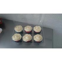 10 Domos Molde P/6 Panqué-cupcake-quequito-mantecada