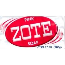 Zote Lavandería Jabón Bar - Pink 7 Oz