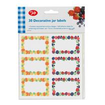 Jar Label - Tala 30pcs Mezclas De Frutas Berry Citrus Jam
