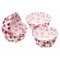 Cajas De La Torta - Paquete De 80 Corazón Diseño Hada Copa