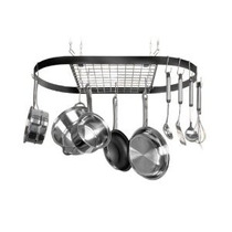 Kinetic Classicor Serie De Hierro Forjado Oval Pot Rack 1202