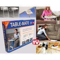 Tablemate Mesa Plegable Multiusos Y Alturas 18 Posiciones