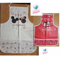 Kit Mandil De Cocina Mickey Mouse Disney 2pzs