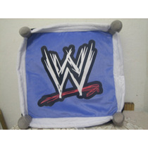 Almohada Cojin Pillow Ring Peluche Wwe Luchas Luchadores