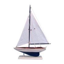 Hechos A Mano Nautical Decor Pacífico Sailer Sails Barco 17