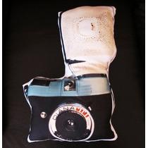 Cojín Decorativo Cámara Lomográfica Vintage Fotógrafo