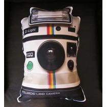 Cojín Decorativo Cámara Polaroid Vintage Fotógrafo