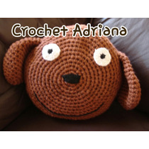 Cojín Tejido Crochet Gato Buho Koala