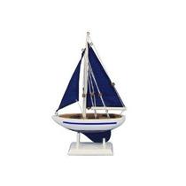 Hechos A Mano Nautical Decor Pacífico Sailer Azul / Azul Sai