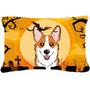 Corgi De Halloween Rojo Tela Almohada Decorativa Bb1812pw121