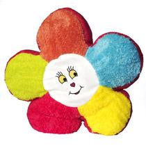 Cojín De Peluche Con Forma De Flor