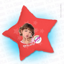 Cojín Personalizado Estrella Impreso Con Tus Fotos Favoritas