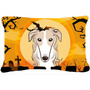 Borzoi De Halloween Tela Almohada Decorativa Bb1786pw1216
