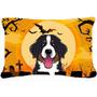 Halloween Del Perro De Montaña De Tela Almohada Decorativa