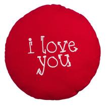 Cojin I Love You Corazón Regalos Decoración Casa