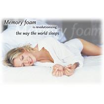 Colchon De Memory Foam Matrimonial Ortopedico Tipo Tempur