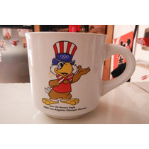 Taza Olimpiadas Los Angeles Sam The Eagle 1980 Sport Deporte
