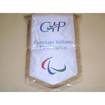Banderin Comite Italiano Paralimpico Importado