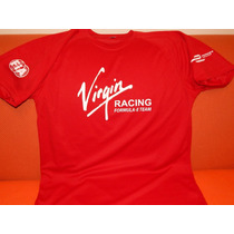 Playera Roja Formula E Virgin 2016