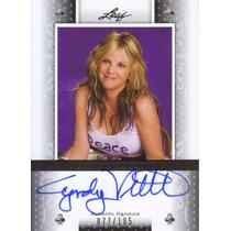2011 Leaf Poker Autografo Cyndy Violette /105 Usa Poker Wsop