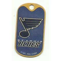 Nhl: St. Louis Blues Tag Oficial (hockey)