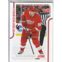 2011-2012 Score Glossy Tomas Holmstrom Lw Det Red Wings Nhl