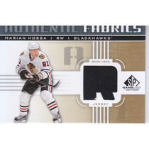 2011 - 2012 Sp Game Used Jersey Marian Hossa Rw Blackhawks