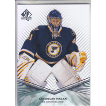2011 - 2012 Sp Authentic Jaroslav Halak St Louis Blues
