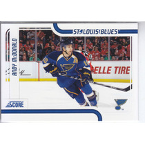 2011-2012 Score Glossy Andy Mcdonald Lw St Louis Blues Nhl