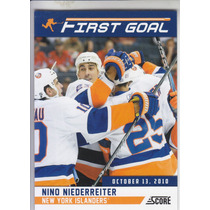 2011-2012 Score First Goal Nino Niederreiter Lw Ny Islanders