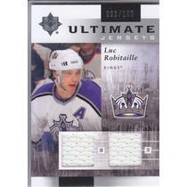 2011 - 2012 Ultimate Dual Jersey Luc Robitaille Kings /100